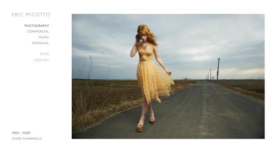Photographer Eric Micotto Website