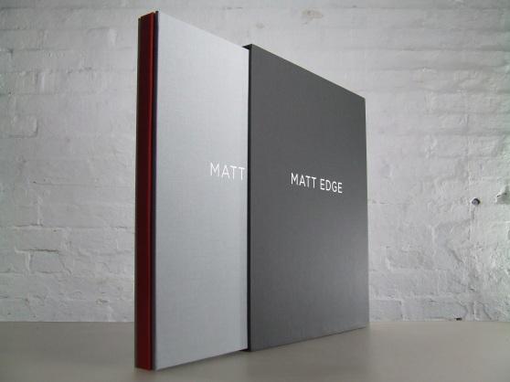 3 piece portfolio with slipcase