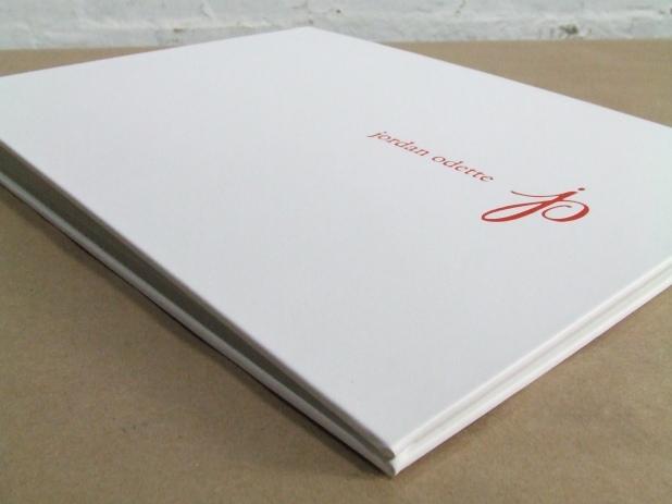 Full Case portfolio in white portofino white / leatherette