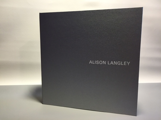 Alison Langely Clamshell presentation box by Mullenberg Designs