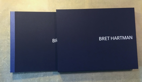 Bret Hartman Portfolio and Slipcase by Mullenberg Designs