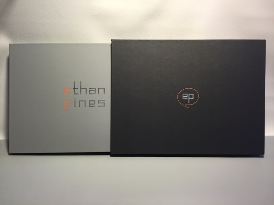 Ethan Pines Portfolio and Slipcase by Mullenberg Designs