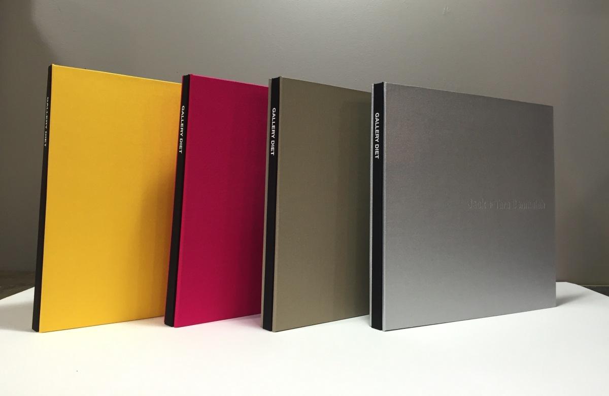 Gallery Diet Portfolios set by Mullenberg Designs