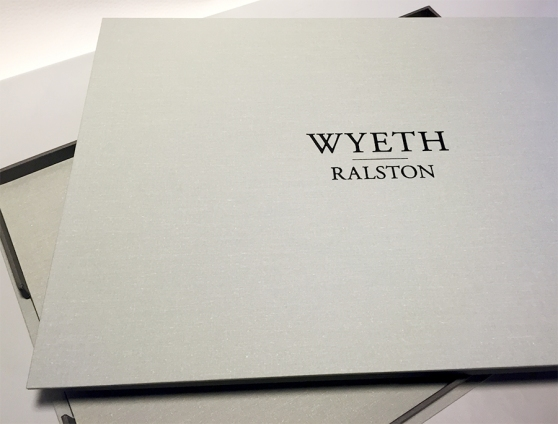 Artist Peter Ralston / Wyeth Portraits / Presentation Portfolio built by Mullenberg Designs