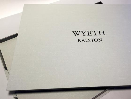 Artist Peter Ralston / Wyeth Portraits / Presentation Portfolio built by Mullenberg Designs