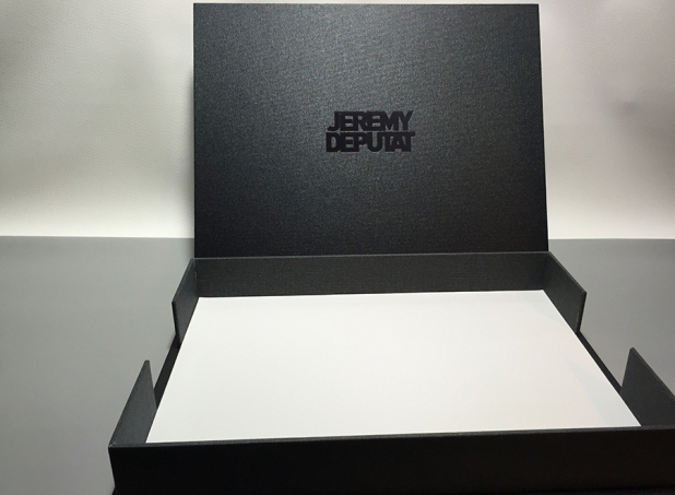 Jeremy Deputat Mullenberg Designs Photographer Presentation Box