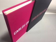 Custom Full Case Portfolio with Slipcase built by Mullenberg Designs for Lifestyle Photographer Carlos Eric Lopez