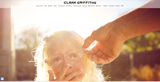 Clark Griffiths Mullenberg Designs Photography Print Portfolio Presentation