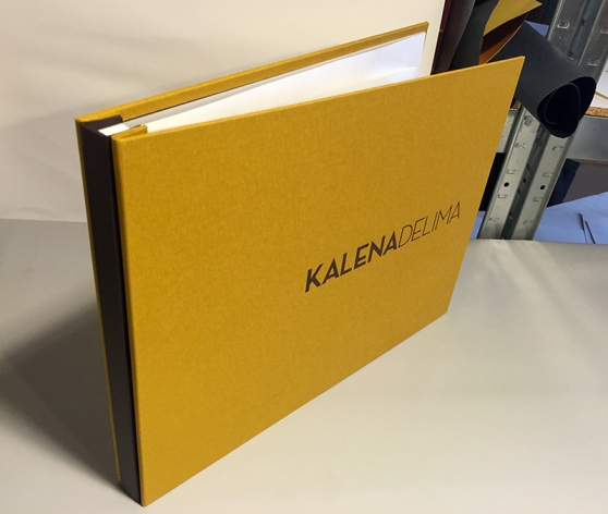3-Piece style portfolio built by Mullenberg Designs for Kalena Delima