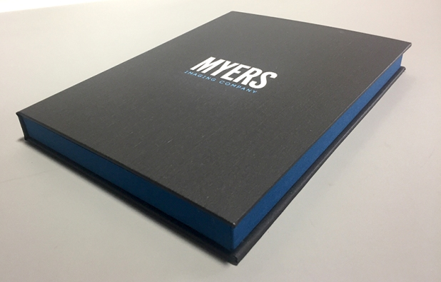 Custom iPad Case built by Mullenberg Designs for Myers Imaging Company