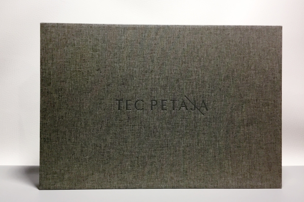 Photographer Tec Petaja Full Case Style Print Portfolio Presentation with Slipcase built by Mullenberg Designs