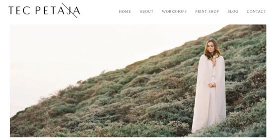 Photographer Tec Petaja Full Case Style Print Portfolio Presentation with Slipcase built by Mullenberg Designs