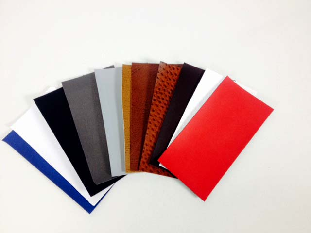 Mullenberg Designs Cover Fabrics: leatherette