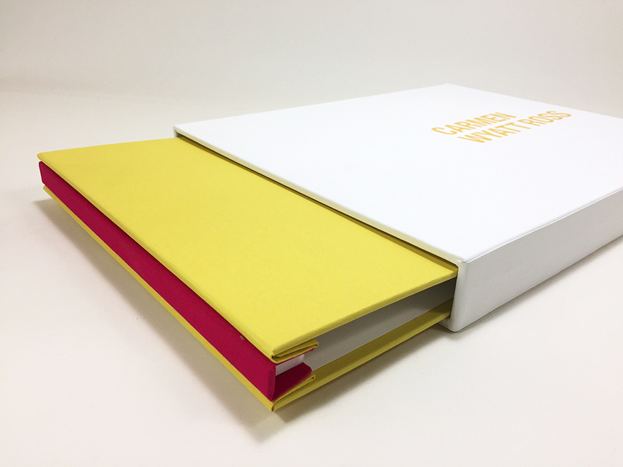 Bespoke Print Portfolio and Slipcase built by Mullenberg Designs for Photographer Carmen Wyatt Ross